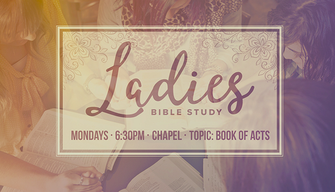 Ladies Monday Night Bible Study