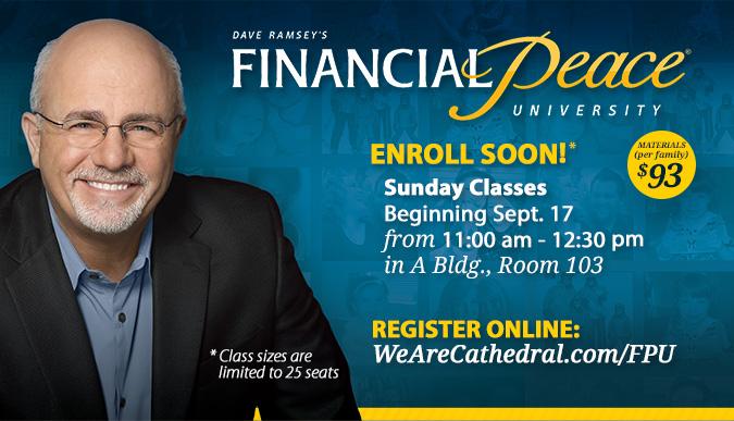 Financial Peace University - Sept. 17