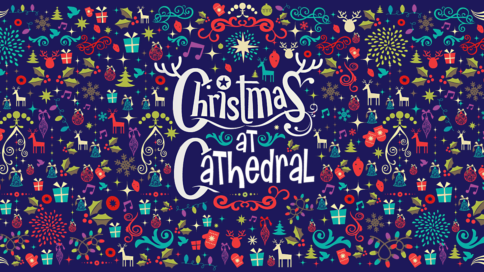 Christmas at Cathedral series title