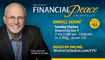 Financial Peace University - July class