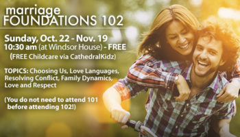 Marriage 102 Class - October 22