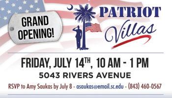 Patriot Villas Grand Opening - July 14