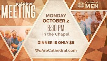 Men's Meeting - October 2
