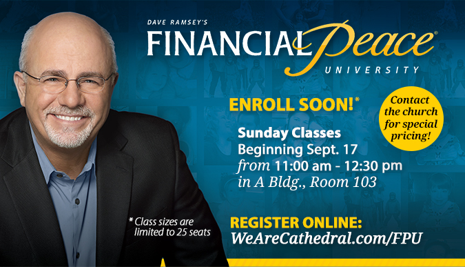 Financial Peace University - Sept. 17