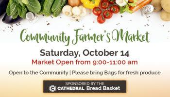 Community Farmer's Market - October 14