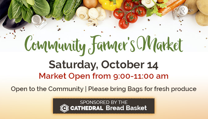 Community Farmer's Market - October 14