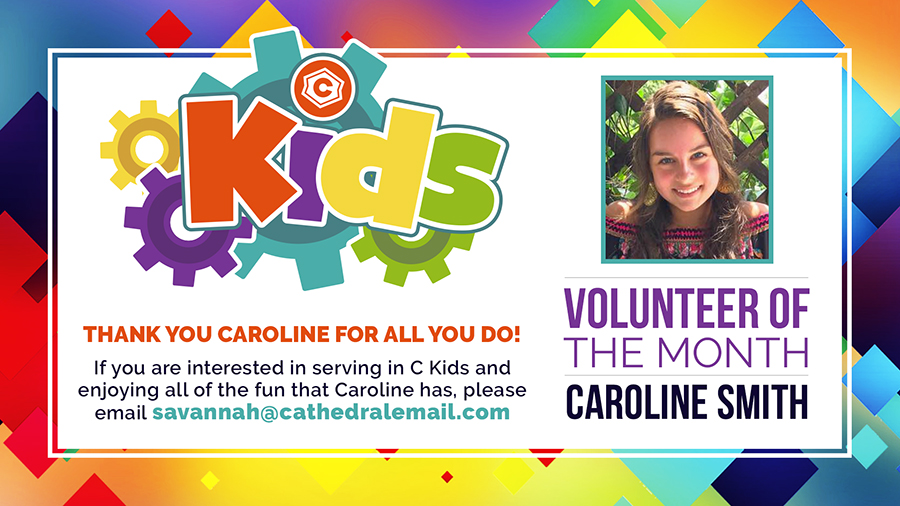 CKids Volunteer of the Month - November 2017