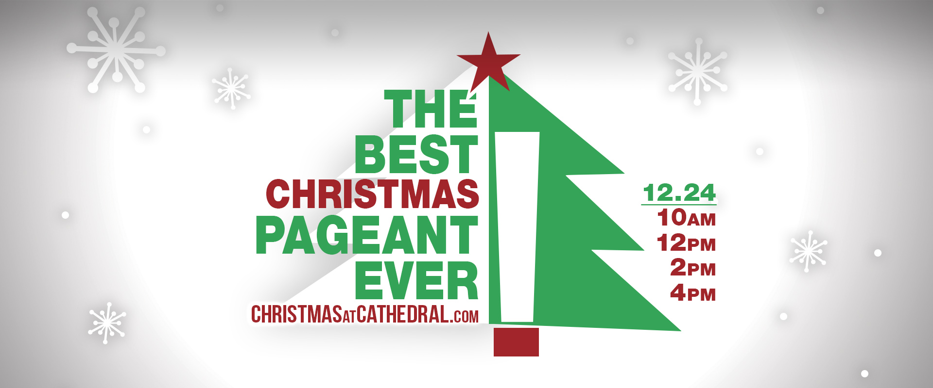 The Best Christmas Pageant Ever - December 24 slide