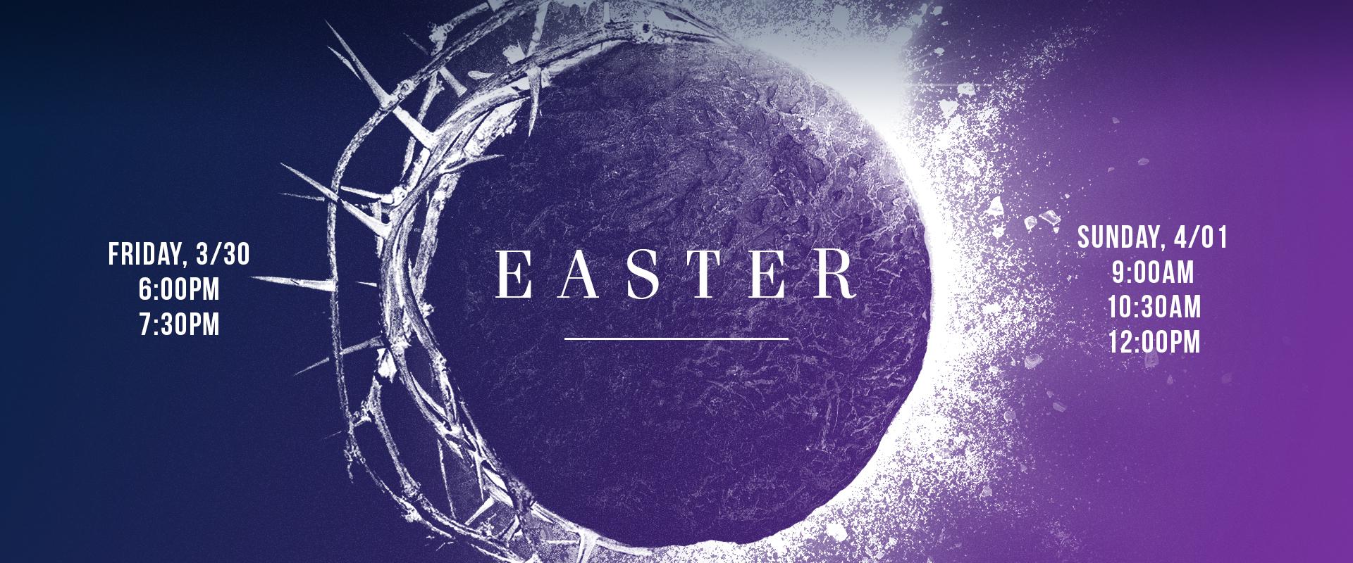 Easter 2018 - front page slide
