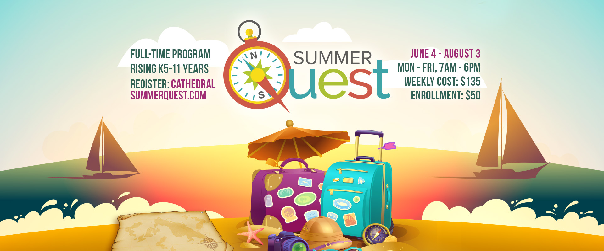 SummerQuest 2018 Registration slide