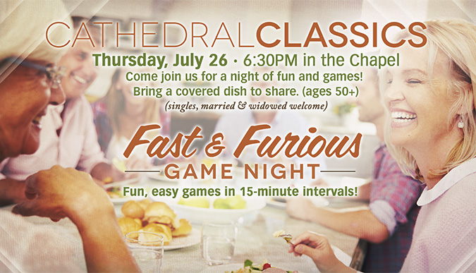 Cathedral Classics - Game Night