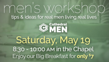 Men's Workshop - May 19