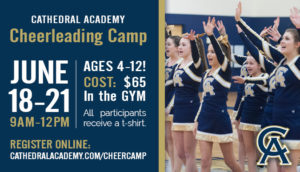 2018 Youth Cheerleading Camp begins