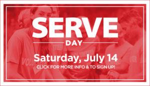 Serve Day - July 14, 2018