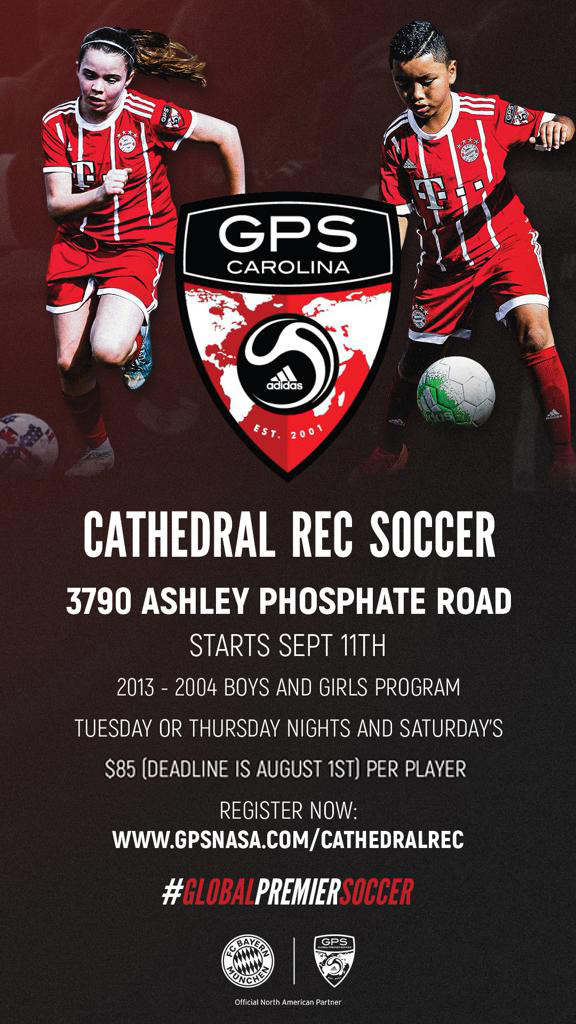 Cathedral Rec Soccer / GPS - Fall 2018
