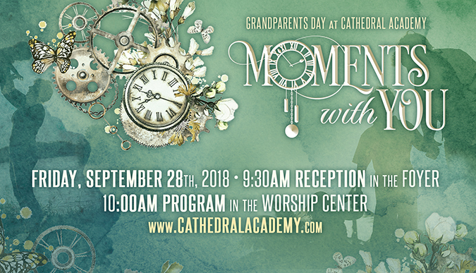 Grandparents Day - Moments With You - Sept. 28