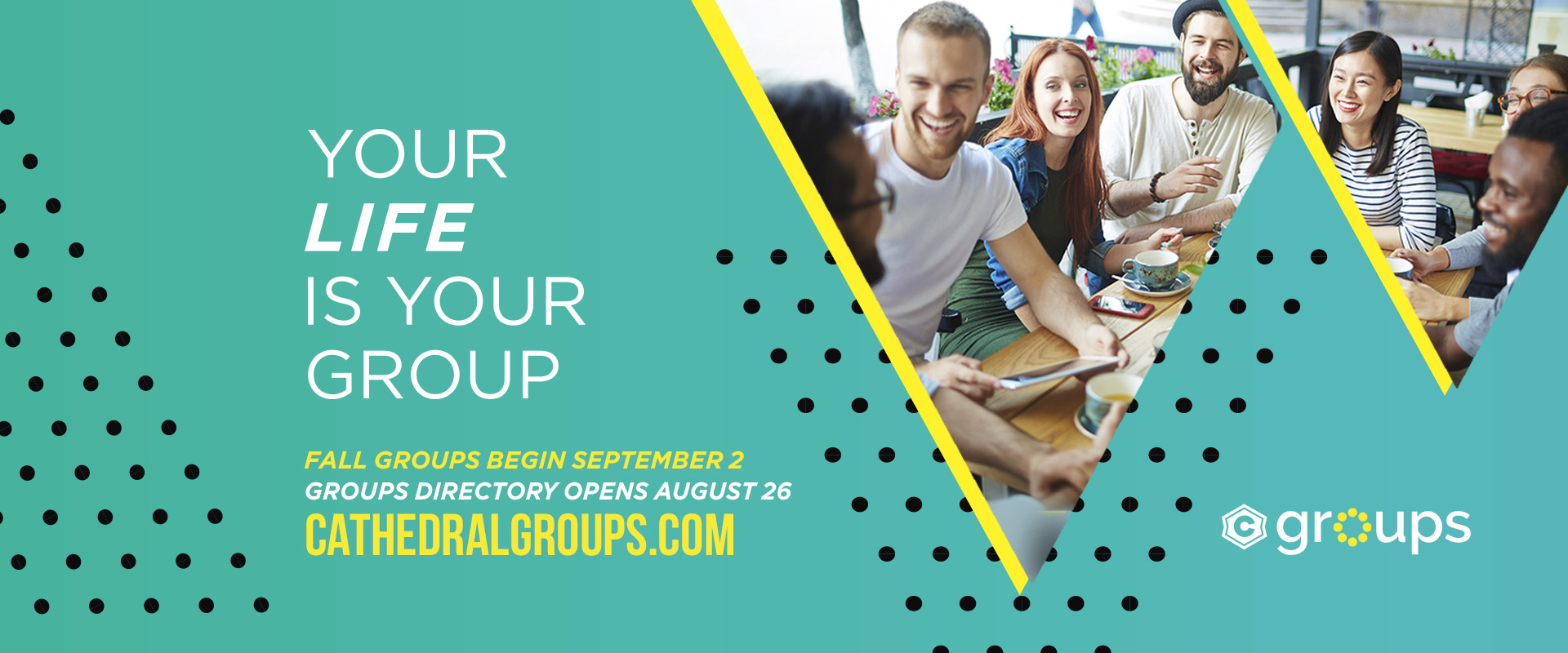 Fall 2018 Small Groups - info slide