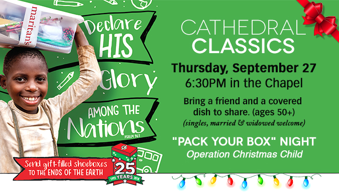 Cathedral Classics - September 27
