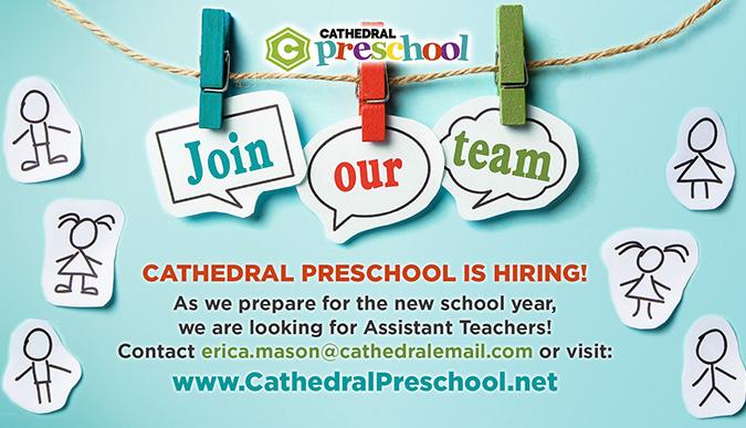 Preschool hiring - assistant teachers