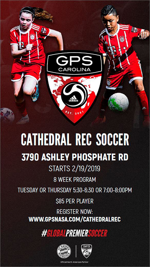 Cathedral Rec Soccer 2019