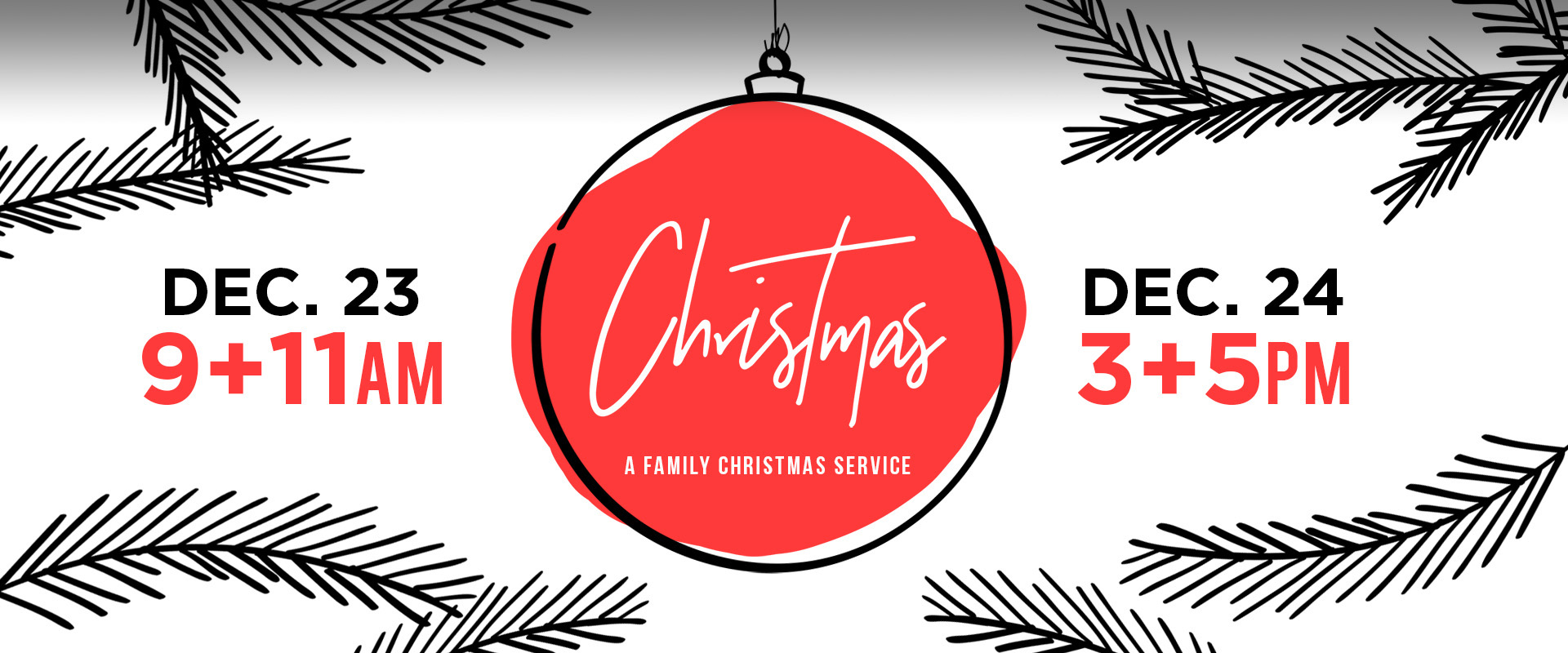 Christmas Eve Services - Dec. 23 & 24