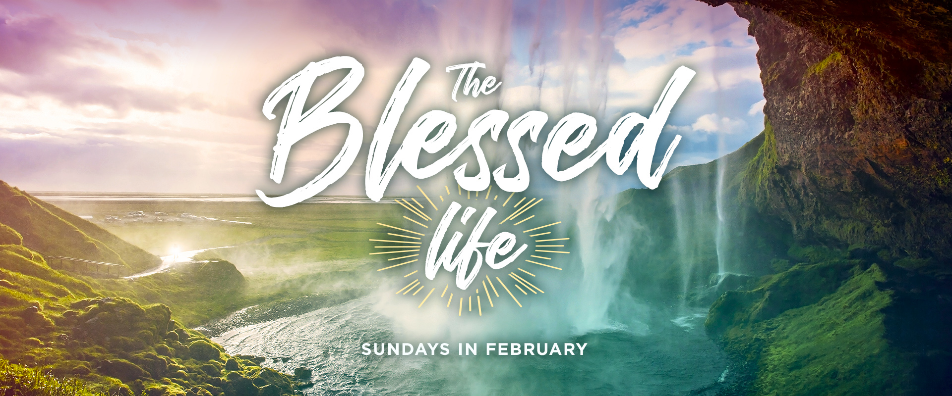 The Blessed Life series slider