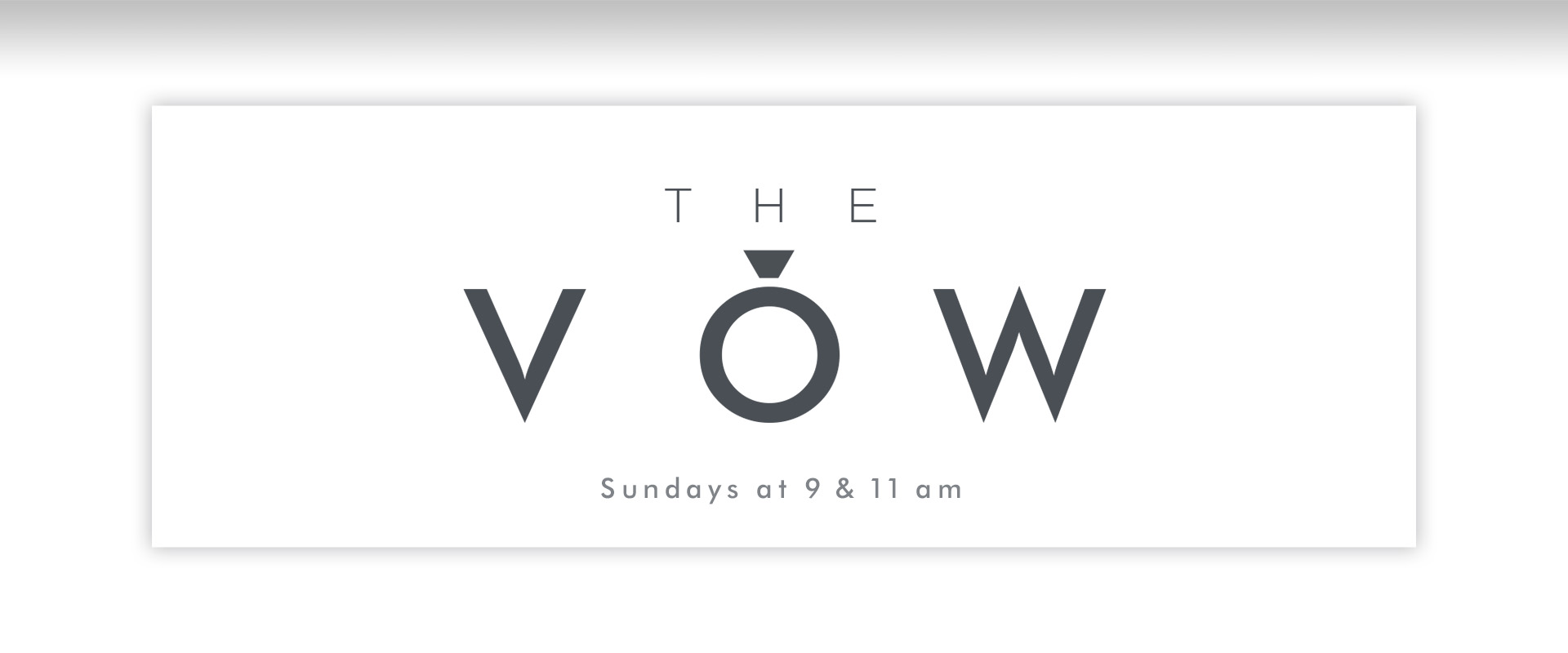 The Vow - series slide