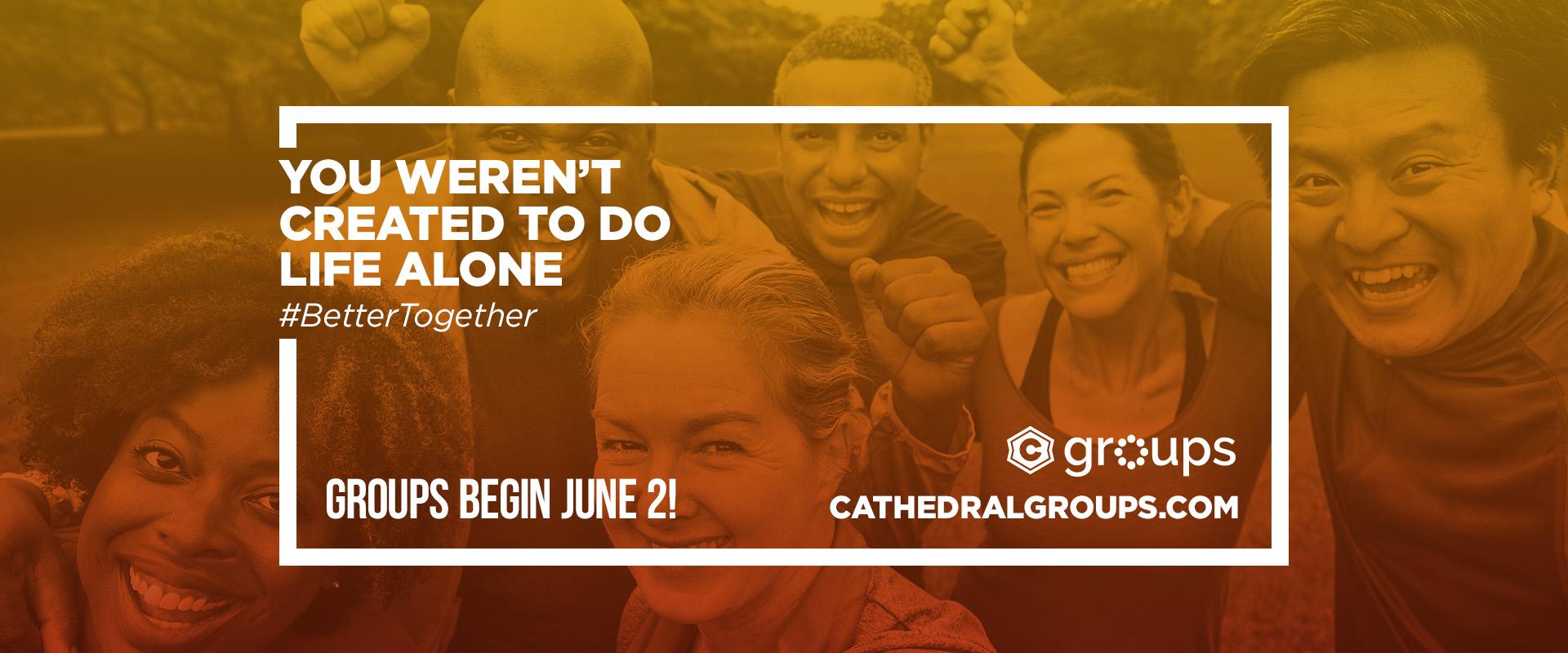 Summer Groups Begin June 2!