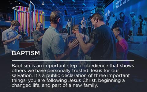 Next Steps - Baptism
